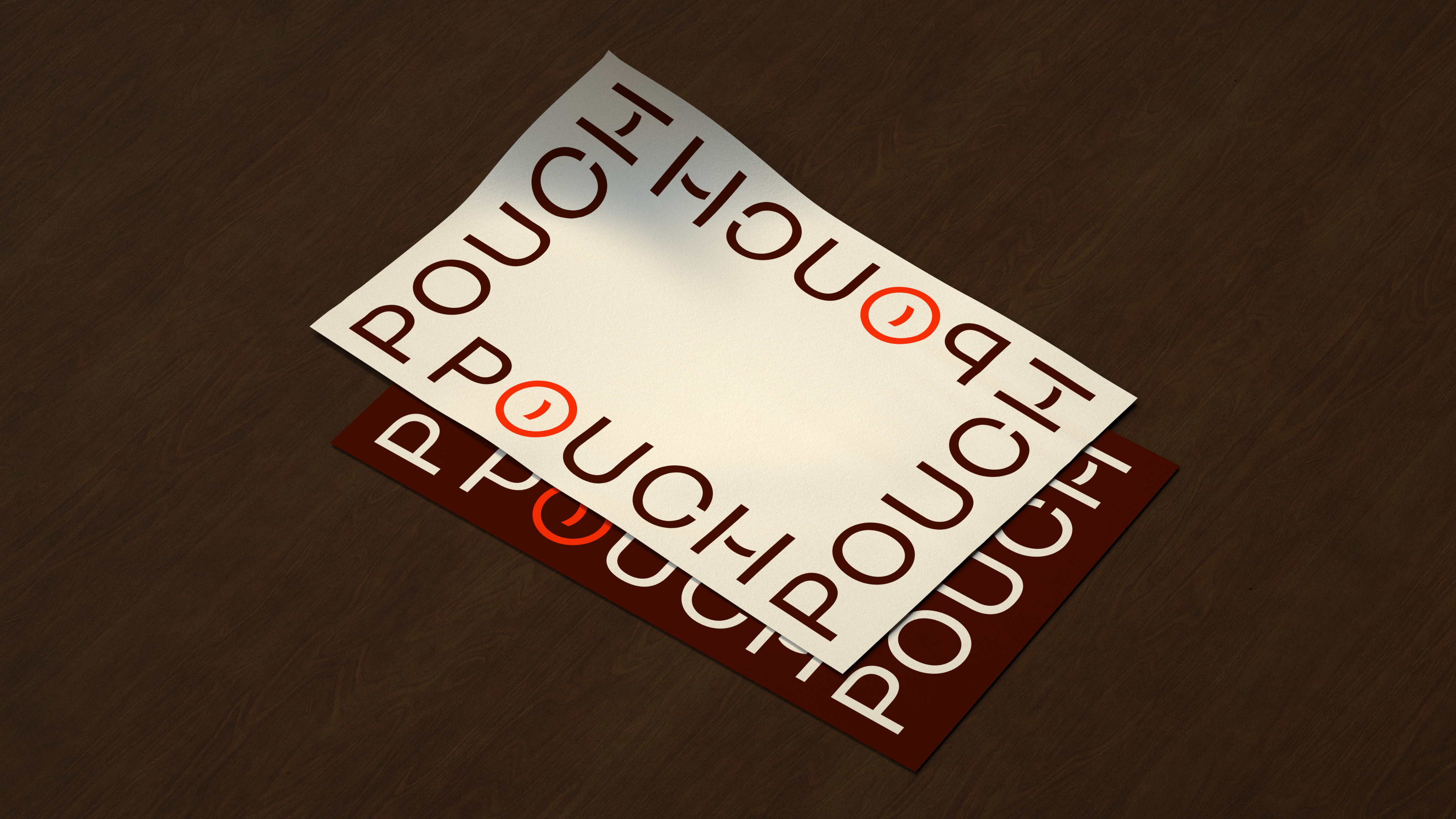 Pouch mockup onlyposter