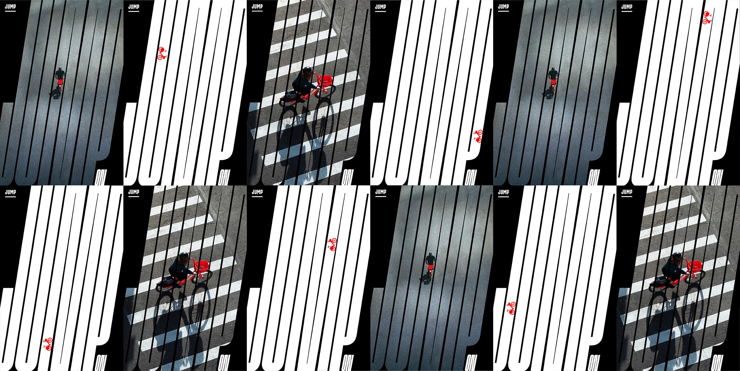 Jump poster bikes