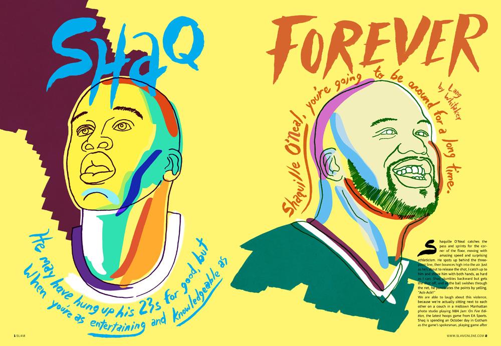 Shaq forever web