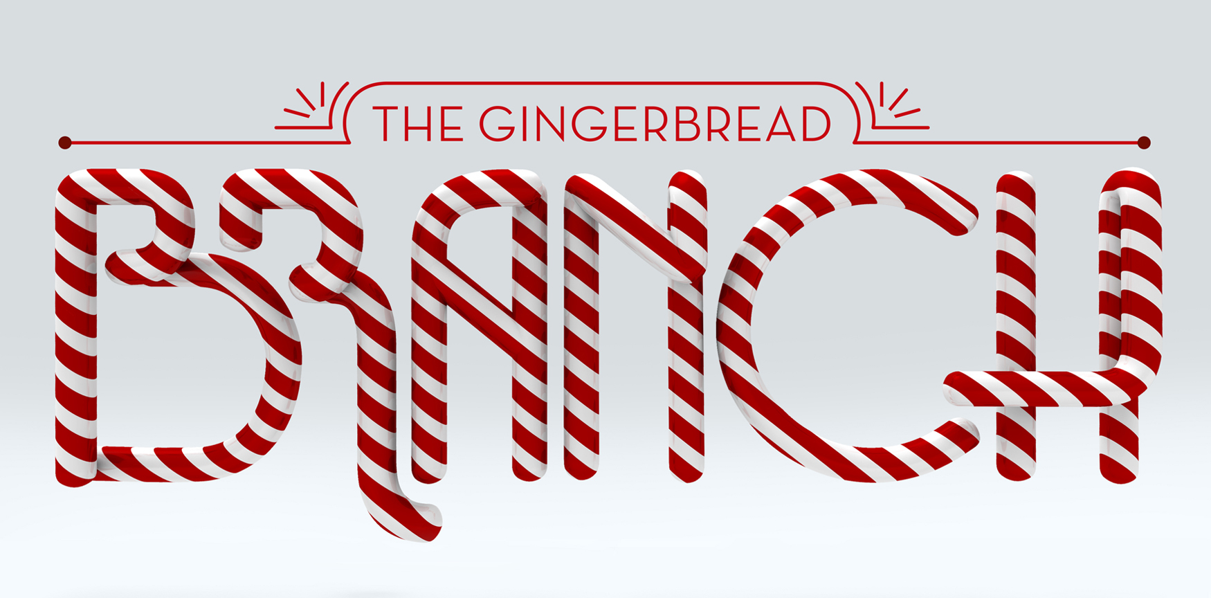 Gingerbread branch